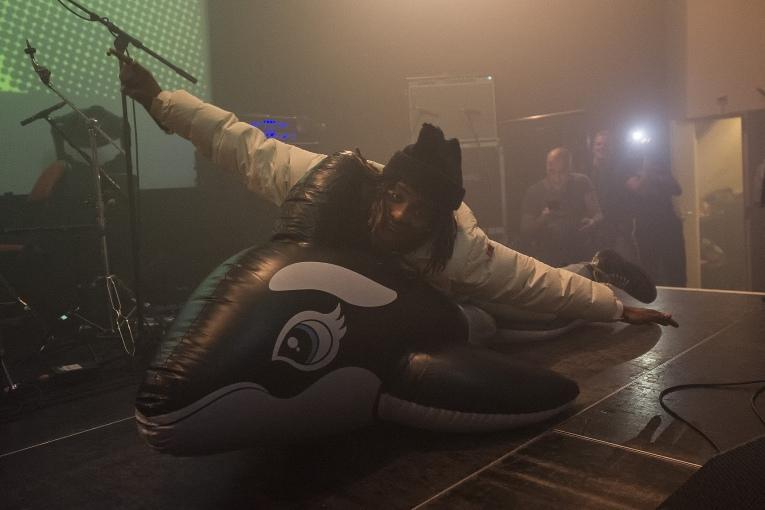 Rey Tranquilo op Popronde Eindfeest 2018 - 24/11 - Melkweg foto