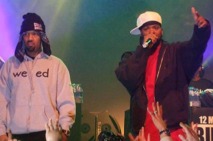 Redman op Method Man / Redman - 9/4 - Effenaar foto