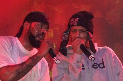 Method Man op Method Man / Redman - 9/4 - Effenaar foto