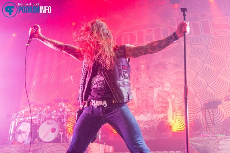 Amorphis op Amorphis / Soilwork - 12/01 - Doornroosje foto