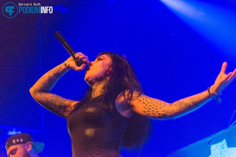 Jinjer op Amorphis / Soilwork - 12/01 - Doornroosje foto