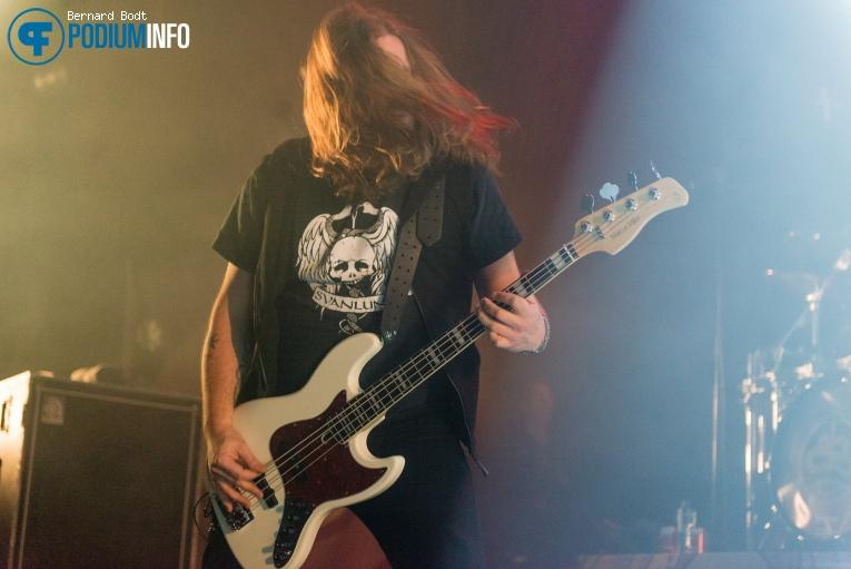 Soilwork op Amorphis / Soilwork - 12/01 - Doornroosje foto