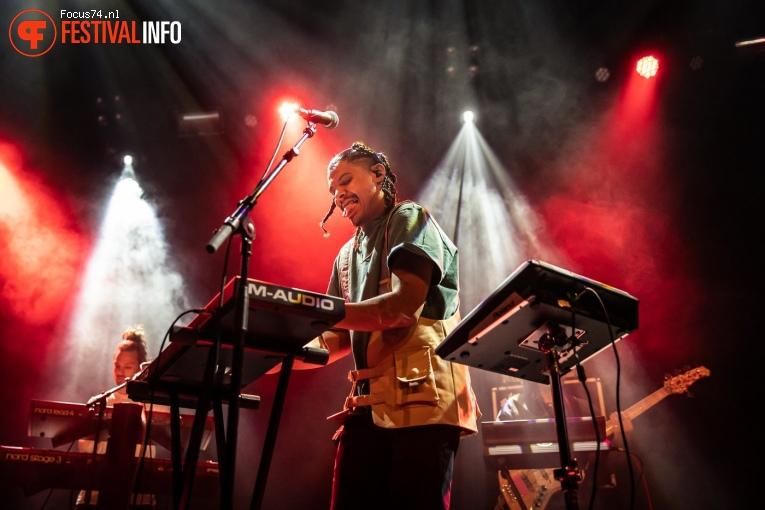 Jarreau Vandal op Eurosonic Noorderslag 2019 - Vrijdag foto