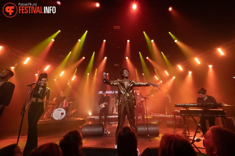 Jeangu Macrooy op Eurosonic Noorderslag 2019 - Zaterdag foto
