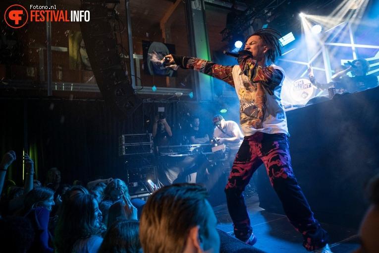 Jacin Trill op Eurosonic Noorderslag 2019 - Zaterdag foto