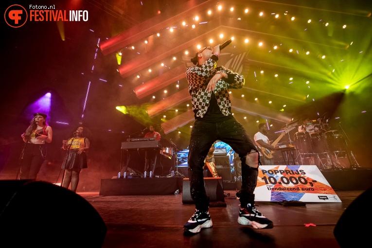 Ronnie Flex op Eurosonic Noorderslag 2019 - Zaterdag foto