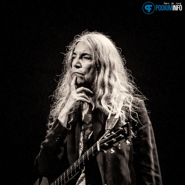 Foto Patti Smith op Patti Smith - 27/1 - TivoliVredenburg