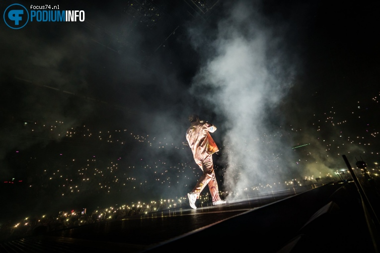 Foto Post Malone op Post Malone - 25/02 - Ziggo Dome