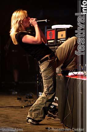 Foto Guano Apes op Dauwpop 2004