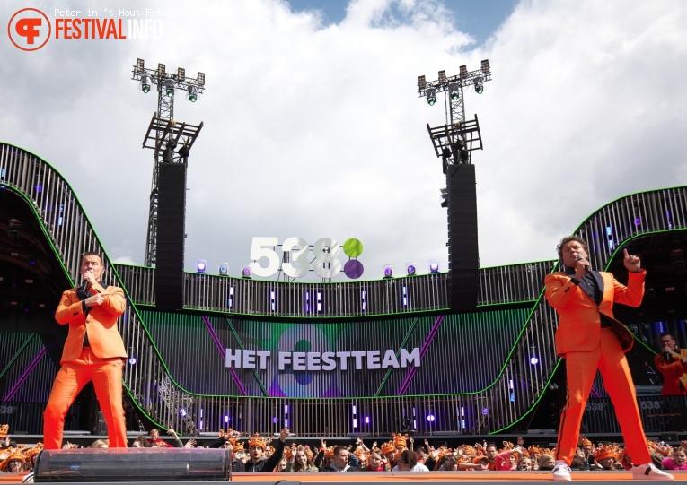 Het Feestteam op 538 Koningsdag 2019 foto