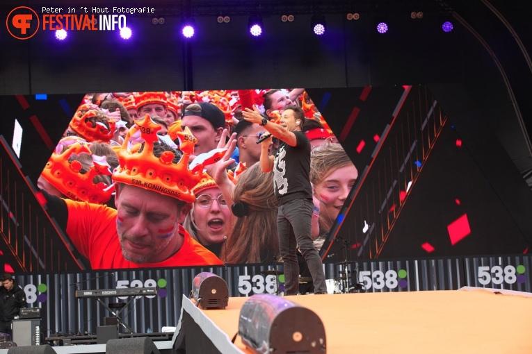 Gerard Joling op 538 Koningsdag 2019 foto