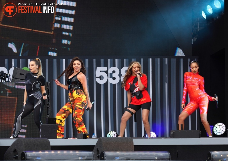 Little Mix op 538 Koningsdag 2019 foto