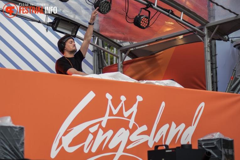 Julian Jordan op Kingsland Festival Twente 2019 foto