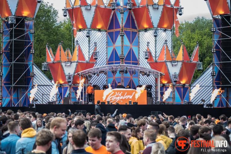 Justin Mylo op Kingsland Festival Twente 2019 foto