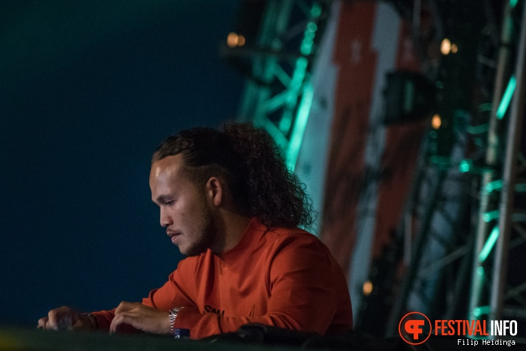Sam Blans op Kingsland Festival Twente 2019 foto