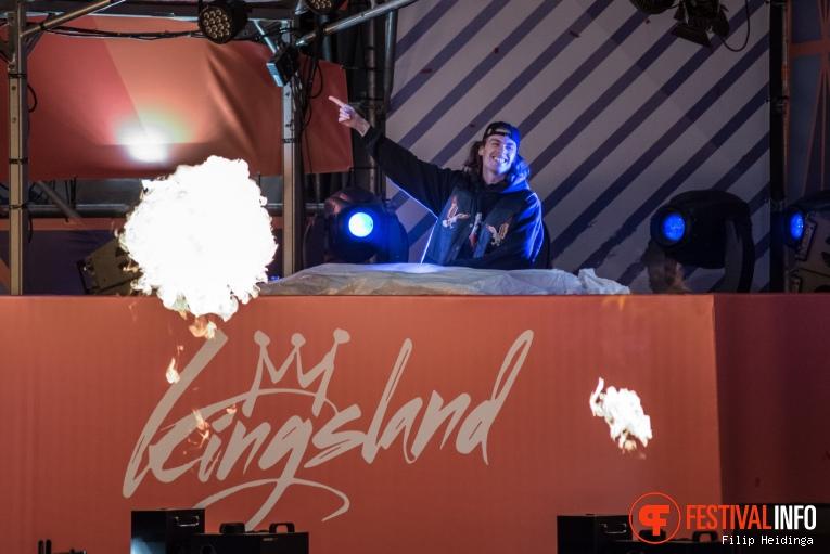 Yellow Claw op Kingsland Festival Twente 2019 foto