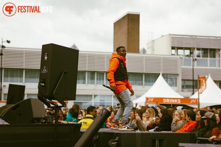 Massive mc op Kingsland Festival Amsterdam 2019 foto