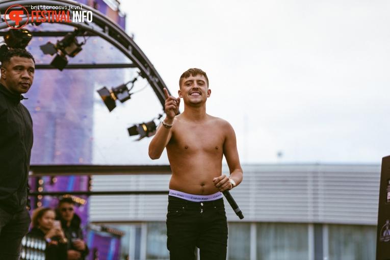 Lil Kleine op Kingsland Festival Amsterdam 2019 foto
