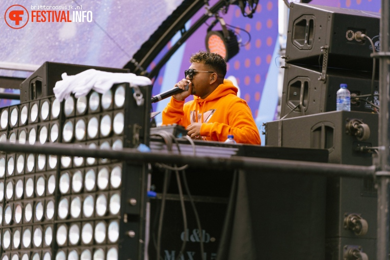 Dyna op Kingsland Festival Amsterdam 2019 foto