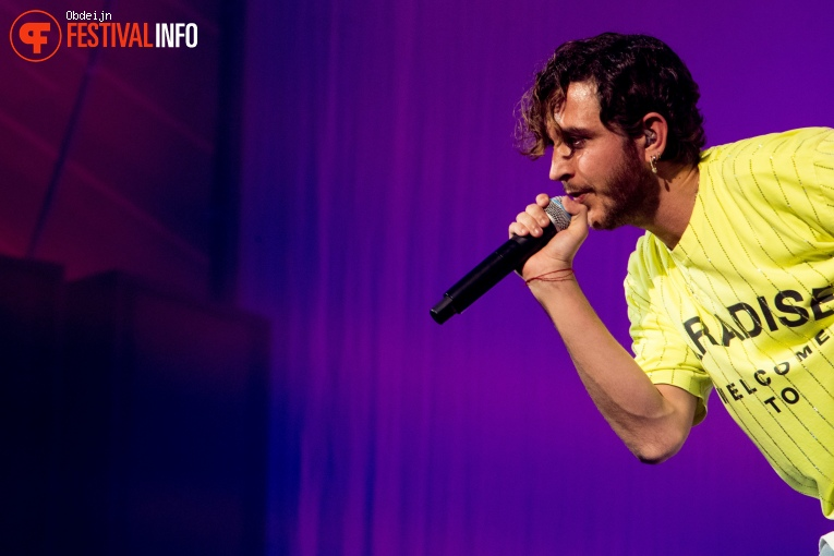 Oscar And The Wolf op Paaspop 2019 - Zaterdag foto