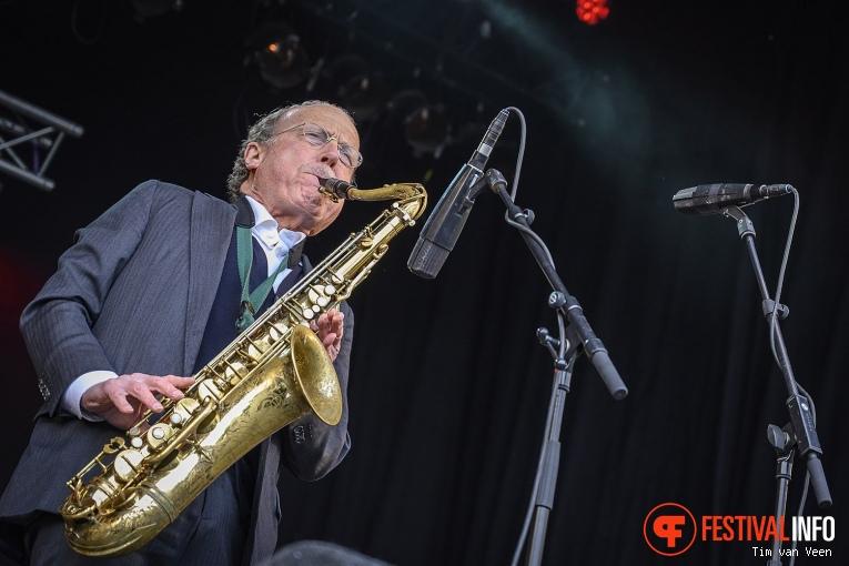 The Konrad Koselleck Big Band op Bevrijdingsfestival Utrecht 2019 foto