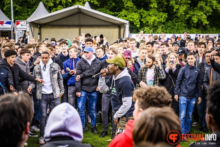 Foto Leafs op Bevrijdingsfestival Utrecht 2019