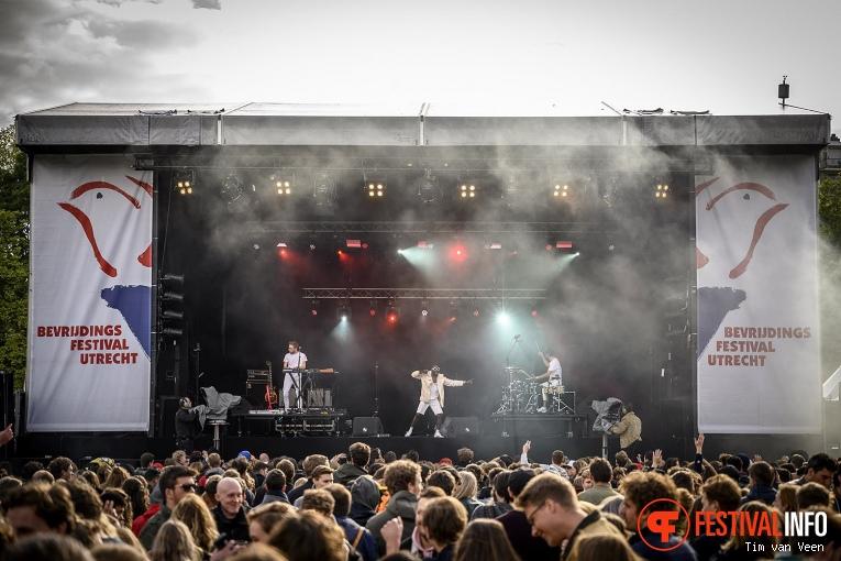 Throes + the Shine op Bevrijdingsfestival Utrecht 2019 foto