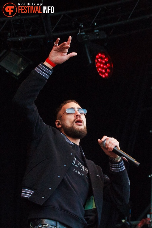 Josylvio op Bevrijdingsfestival Zuid-Holland 2019 foto