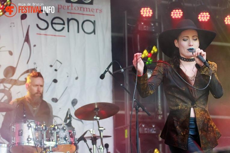 Shireen op Bevrijdingsfestival Zuid-Holland 2019 foto