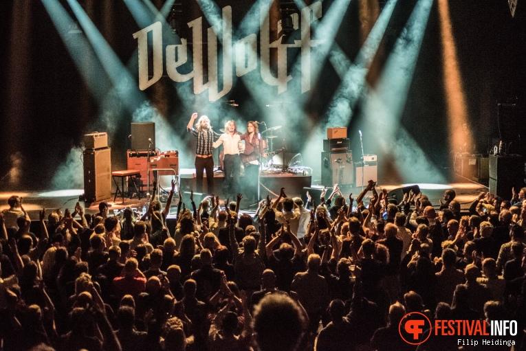 Foto DeWolff op Rhythm & Blues Night 2019