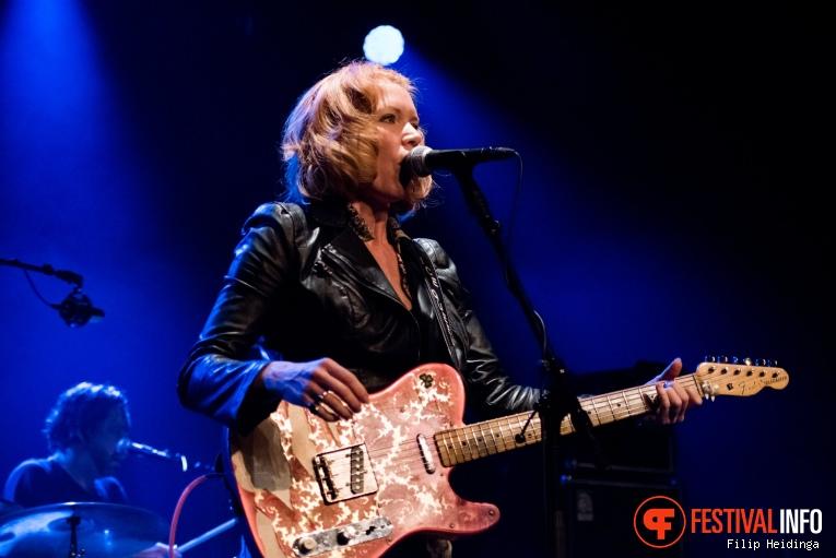 Sue Foley op Rhythm & Blues Night 2019 foto