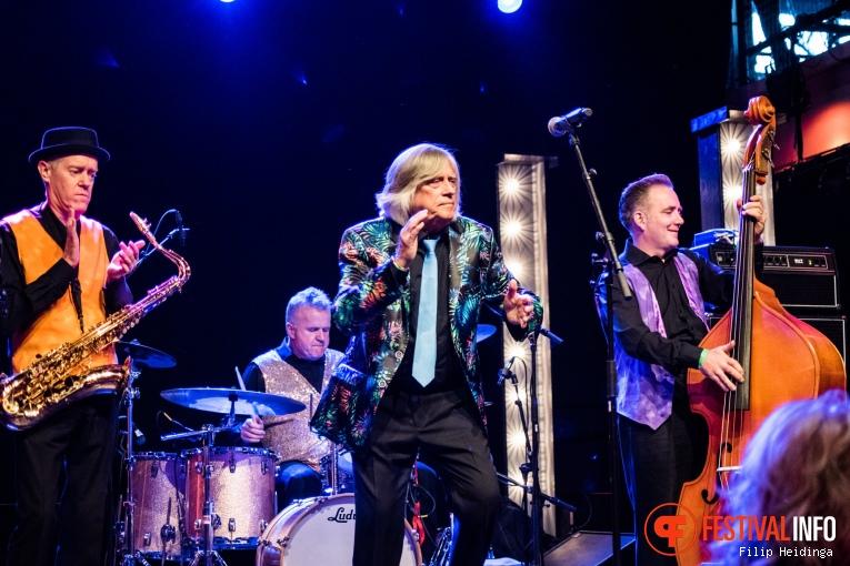 Mike Vernon op Rhythm & Blues Night 2019 foto