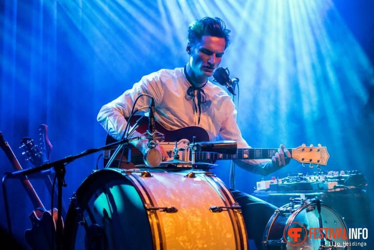 Bror Gunnar Jansson  op Rhythm & Blues Night 2019 foto