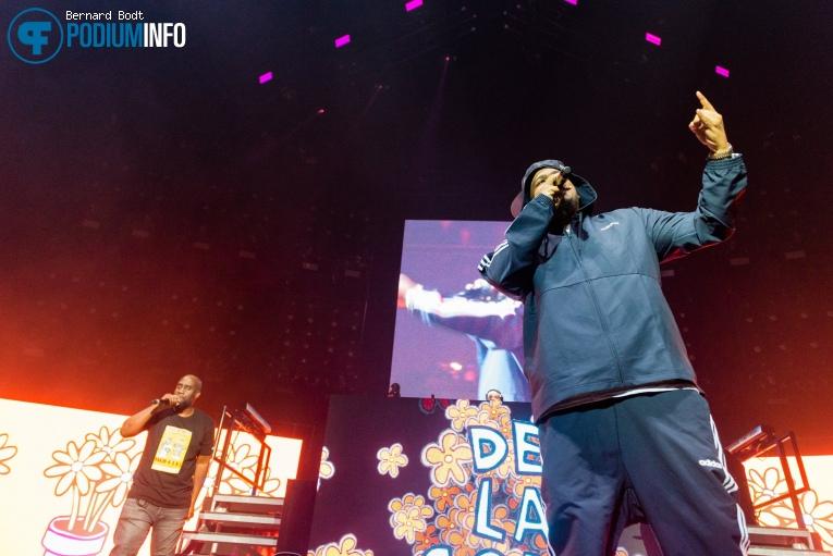 Foto De La Soul op Gods of Rap: De La Soul / Public Enemy / Wu-Tang Clan - 16/05 - Ziggo Dome