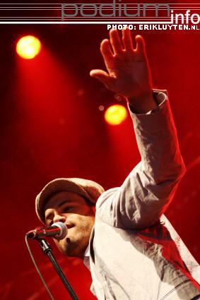 Foto Alain Clark op Dauwpop 2008