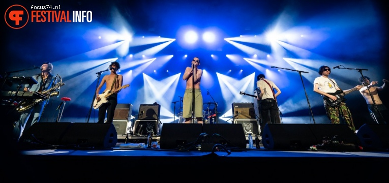Fat White Family op Best Kept Secret 2019 - zaterdag 1 juni foto