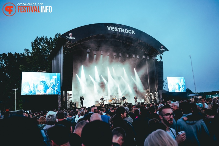 Triggerfinger op Vestrock 2019 foto