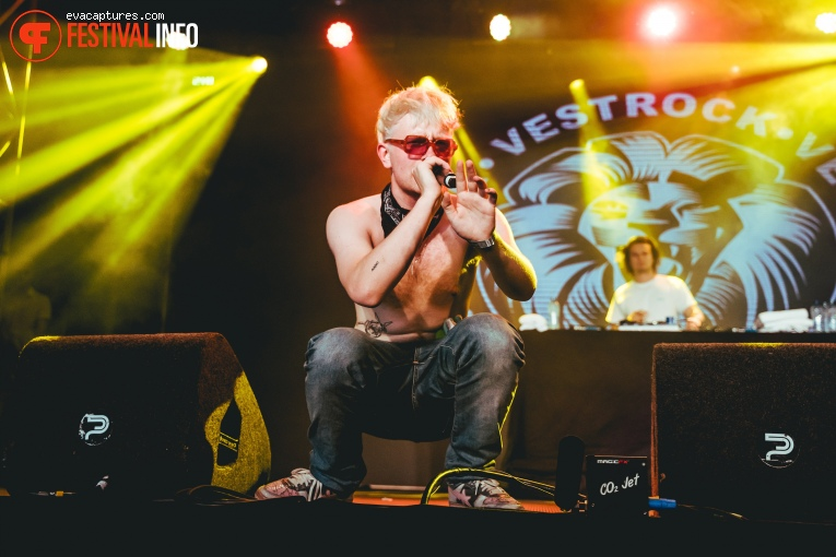 Joost op Vestrock 2019 foto