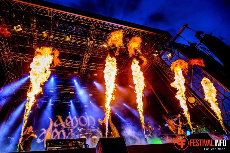 Amon Amarth op FortaRock 2019, Zondag foto