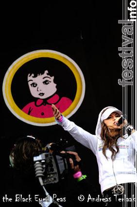 Black Eyed Peas op Pinkpop 2004 ma foto