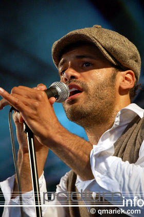Alain Clark op Bevrijdingsfestival Overijssel 2008 foto