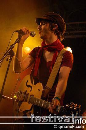 Foto The Tellers op Bevrijdingsfestival Overijssel 2008