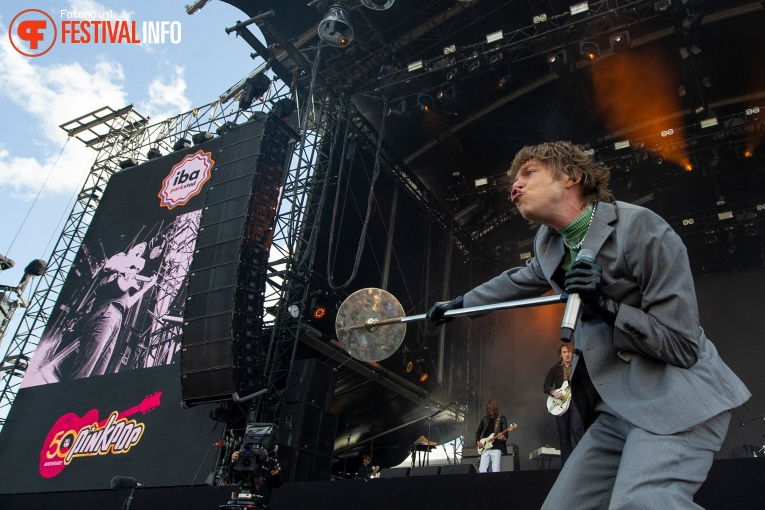 Cage the Elephant op Pinkpop 2019 - Zaterdag foto