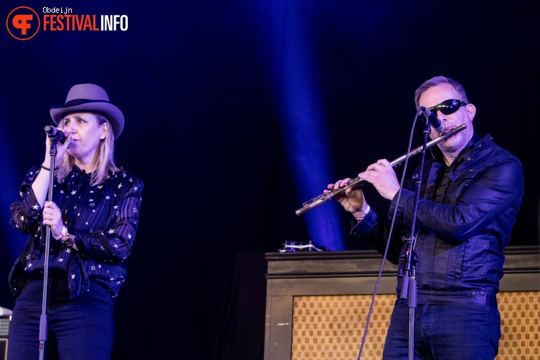 Foto The Bowie Collective op Hello Festival 2019