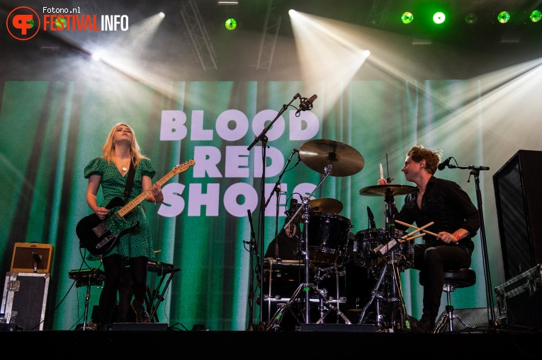 Foto Blood Red Shoes op Pinkpop 2019 - Zondag