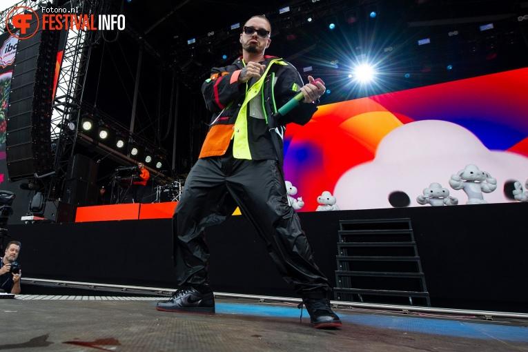 J. Balvin op Pinkpop 2019 - Zondag foto