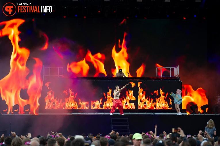 Die Antwoord op Pinkpop 2019 - Zondag foto