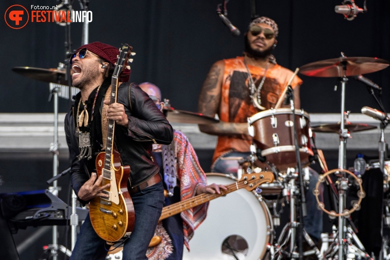 Lenny Kravitz op Pinkpop 2019 - Zondag foto