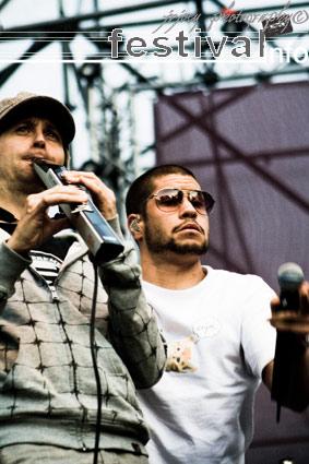 Pete Philly & Perquisite op Bevrijdingspop Haarlem 2008 foto