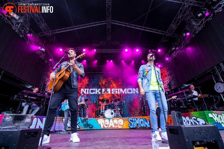Foto Nick & Simon op Pop on Top 2019